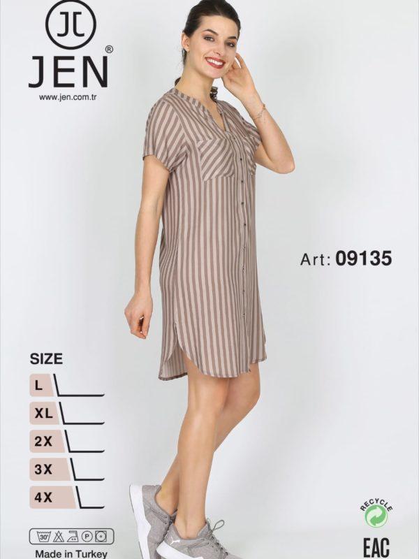 Халат рубаха Jen 09135