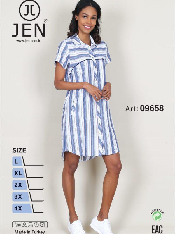 Халат рубаха Jen 09658