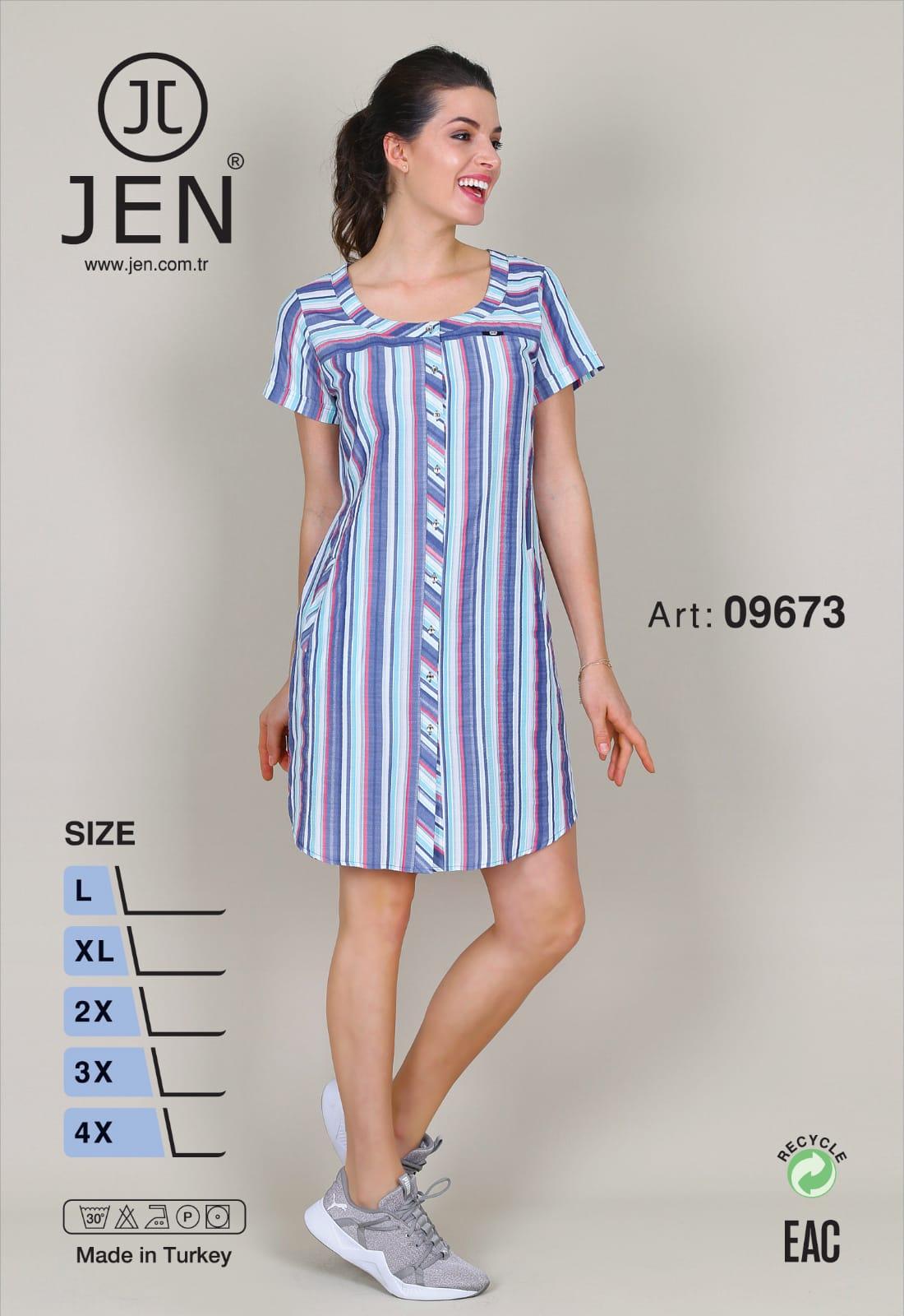 Халат рубаха Jen 09673