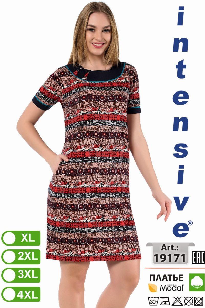 Платье женское Intensive 19171 XL-4XL