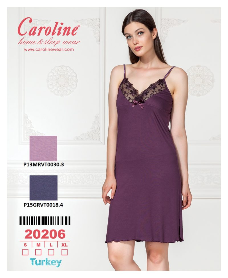 Ночная рубашка лямка Caroline 20206