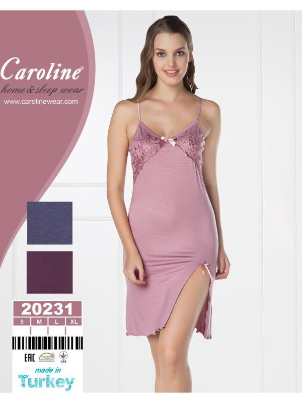 Ночная рубашка лямка Caroline 20231