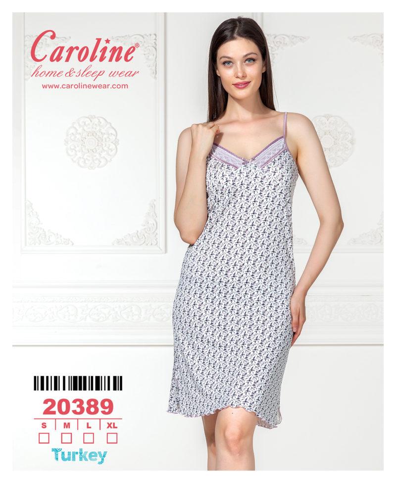 Ночная рубашка лямка Caroline 20389