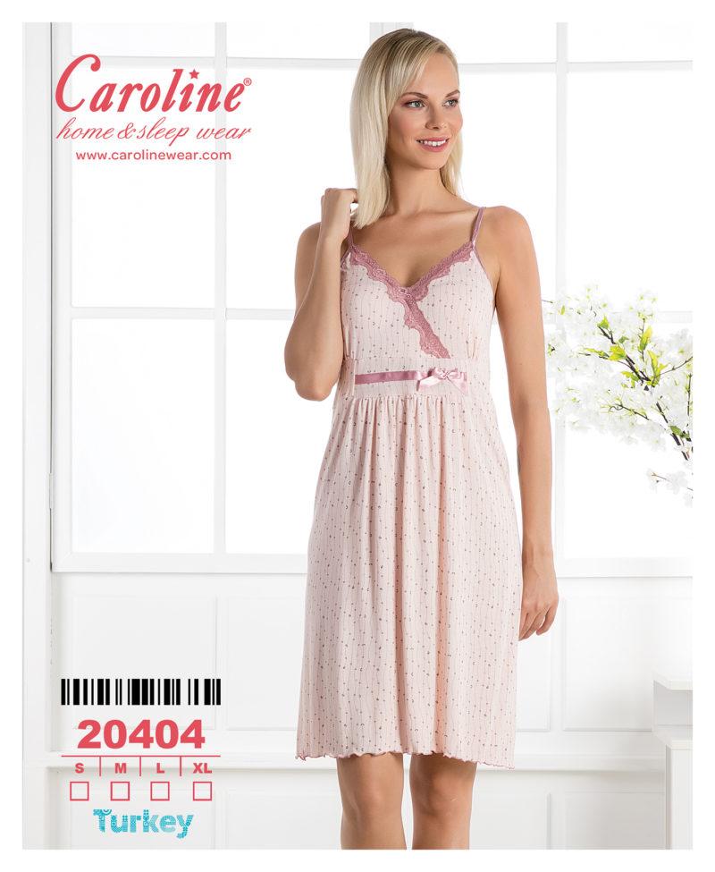 Ночная рубашка лямка Caroline 20404