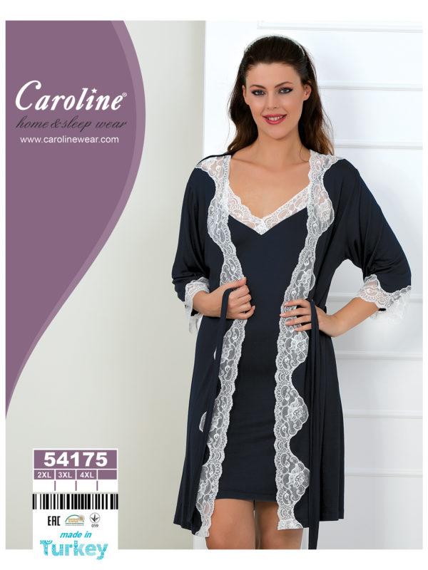 Набор халат ночная Caroline 54175