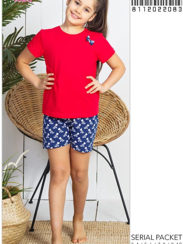 Пижама детская шорты 8112022083