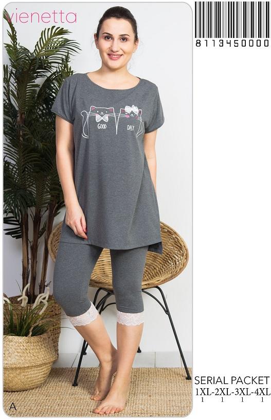 Пижама женская капри 8113450000