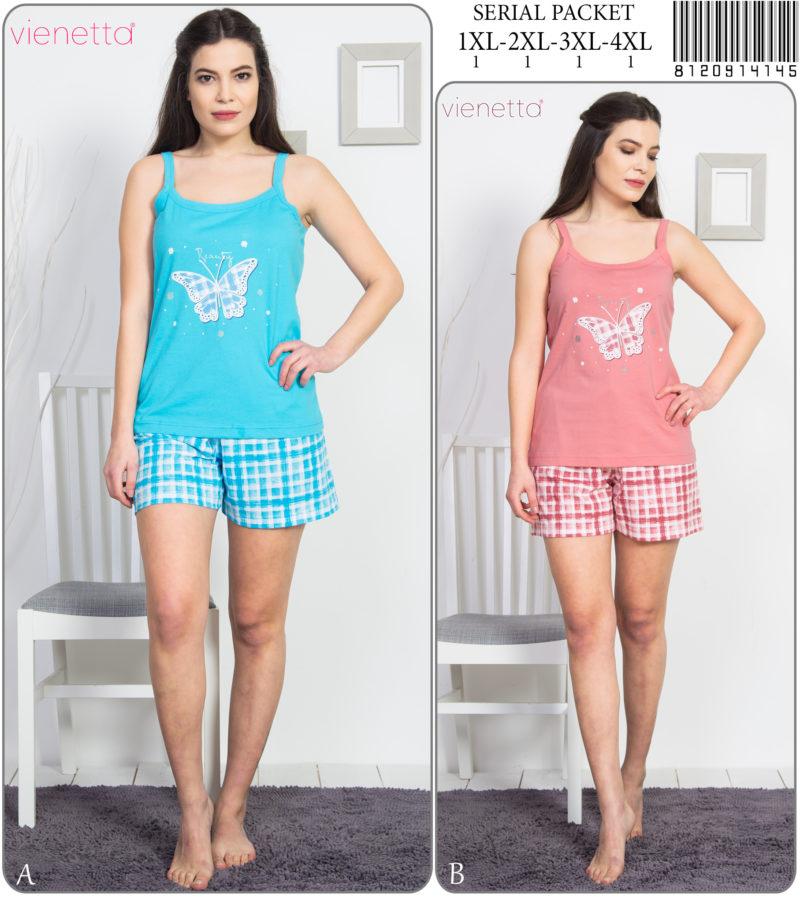 Пижама женская шорты 8120914145