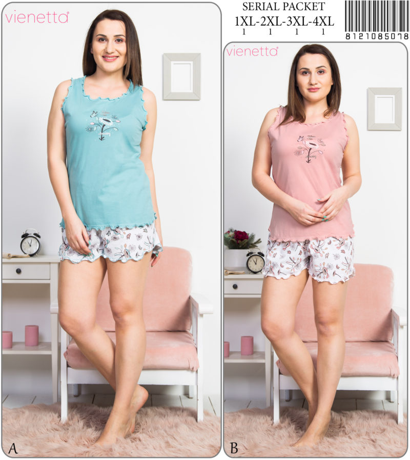 Пижама женская Шорты 8121085078