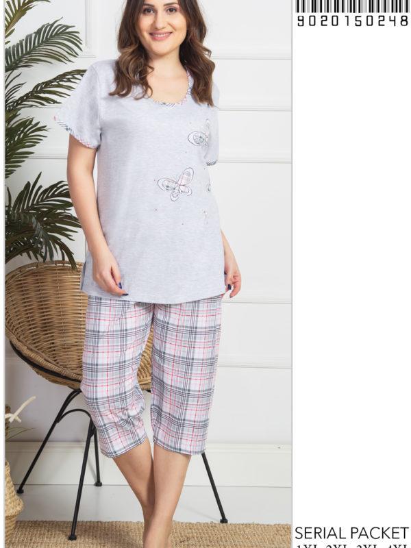 Пижама женская Капри 9020150248