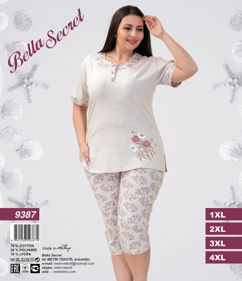 Пижама женская Капри Metin 9387