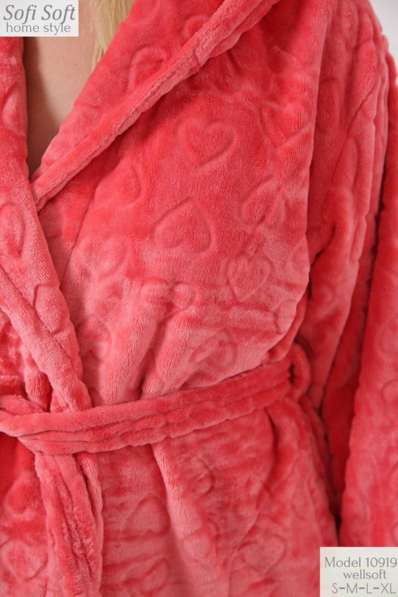 Халат махровый женский 10919