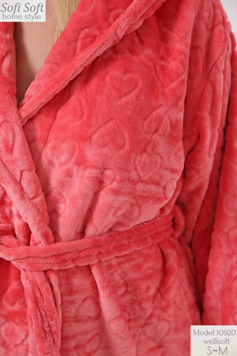 Халат махровый женский 10920