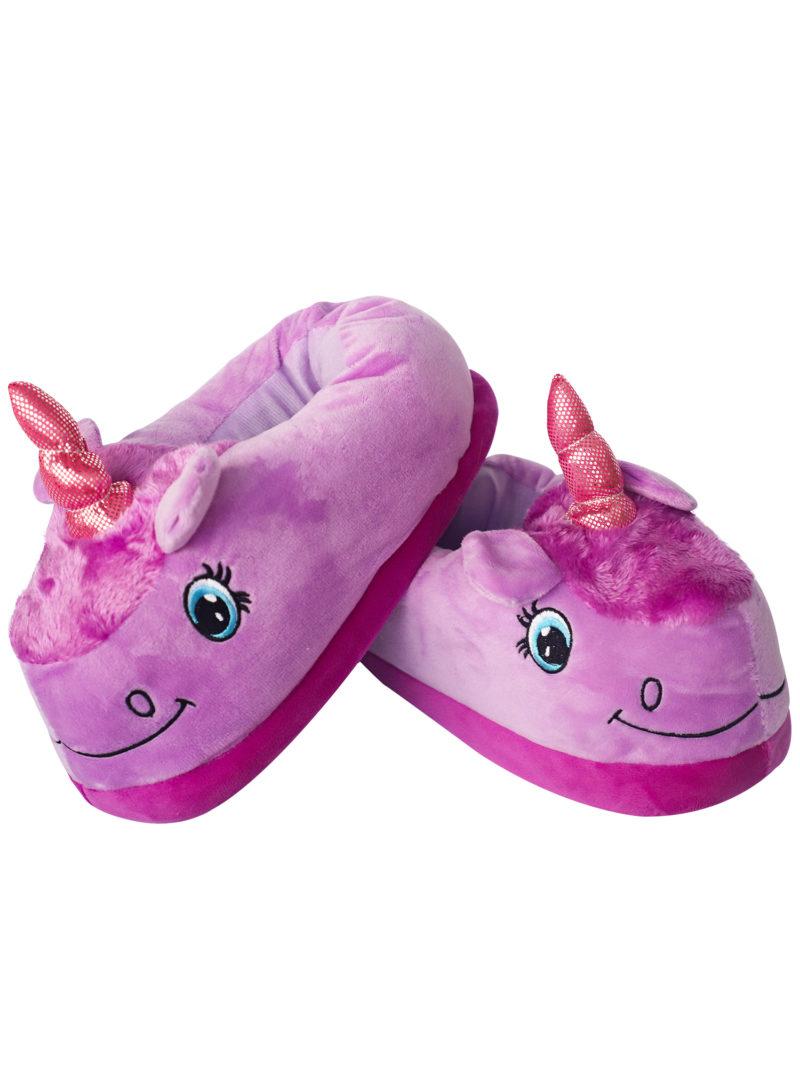 Тапочки единорог 186 purple