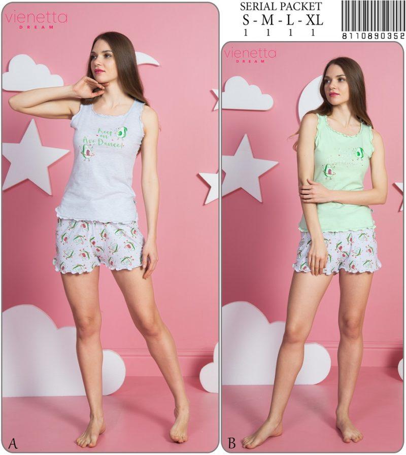 Пижама женская шорты 8110890352