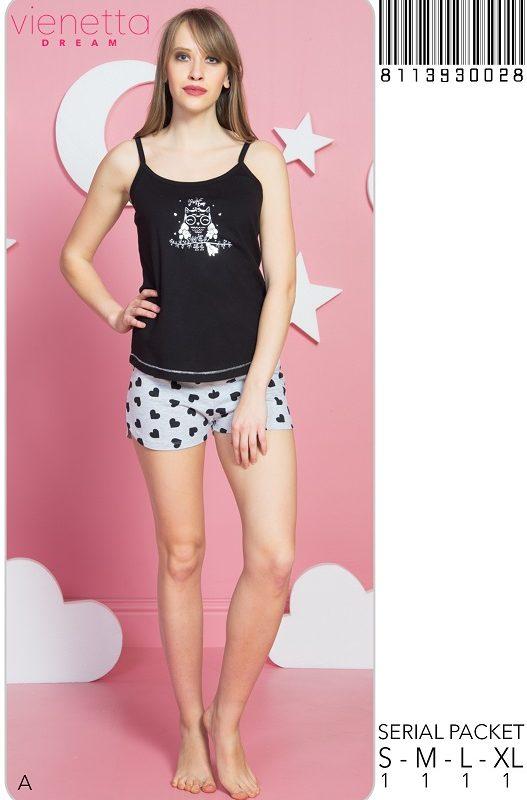 Пижама женская шорты 8113930028