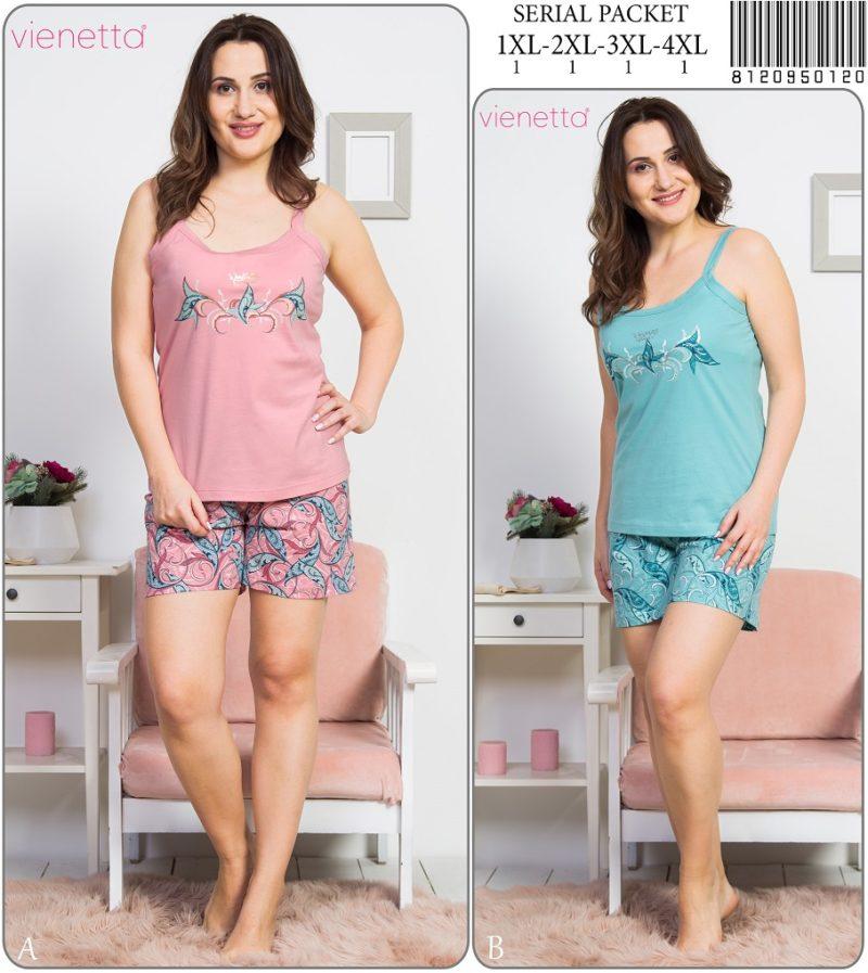 Пижама женская шорты 8120950120