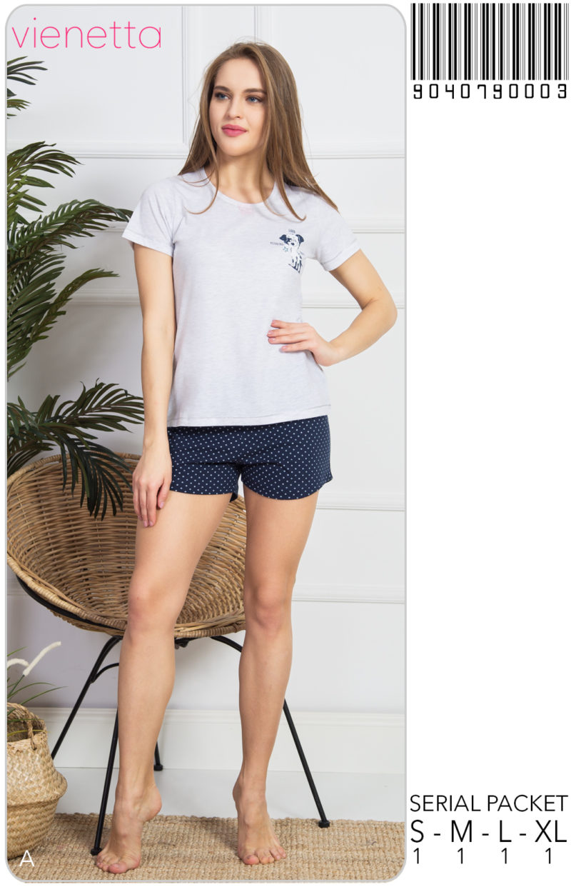 Пижама женская Шорты 9040790003