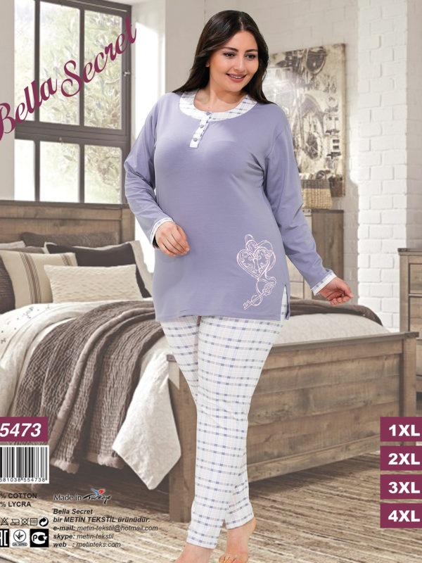 Пижама женская Брюки Metin 5473
