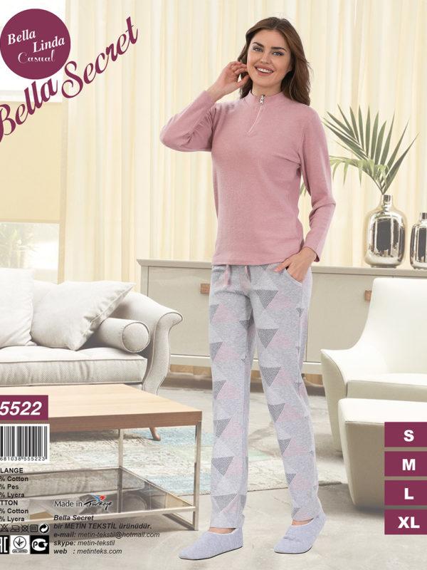 Пижама женская Брюки Metin 5522