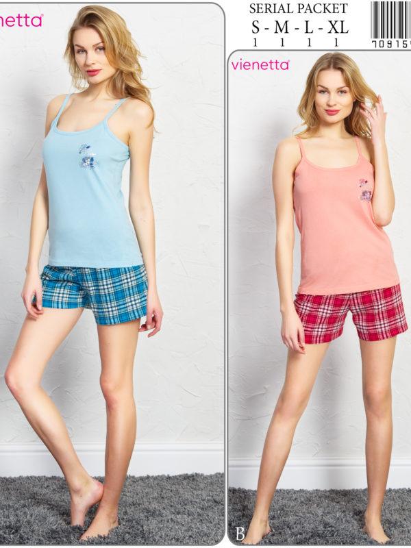 Пижама женская шорты 7091545561