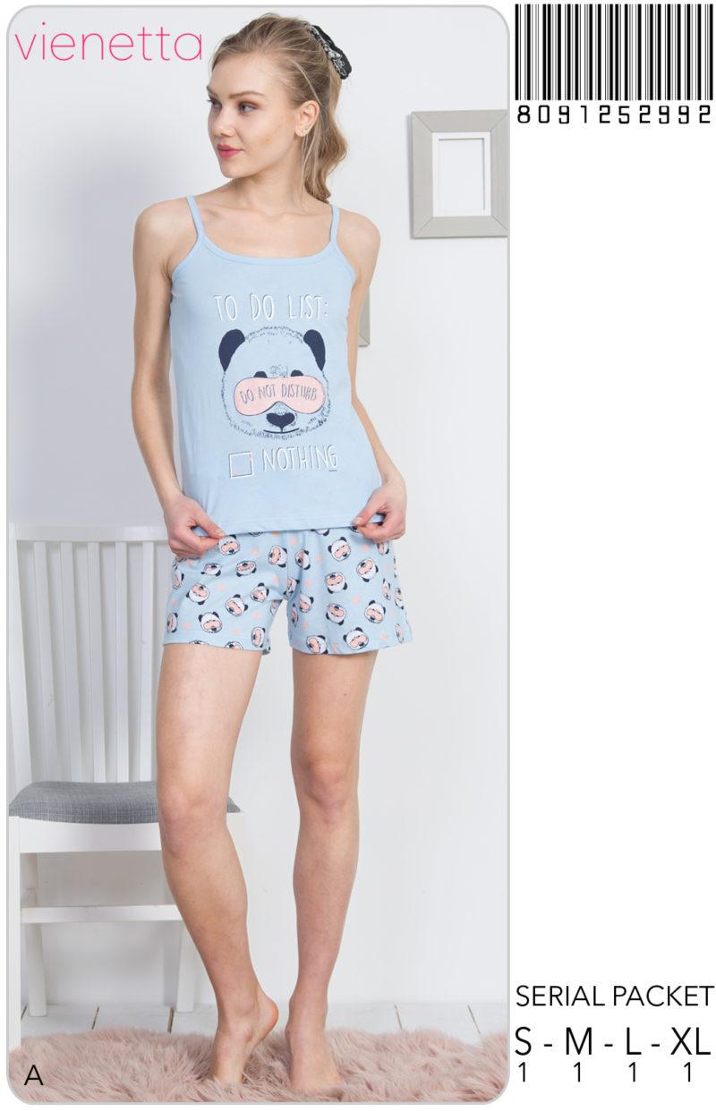 Пижама женская шорты 8091252992