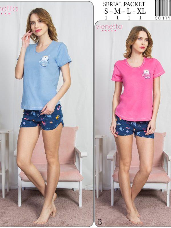 Пижама женская шорты 9041463239
