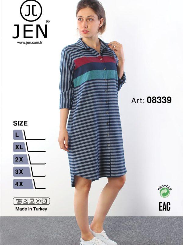Халат рубаха Jen 08339