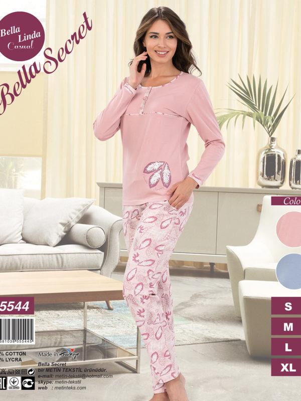 Пижама женская Брюки Metin 5544