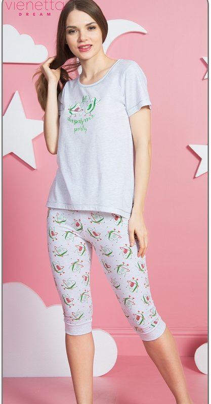 Пижама женская капри 8110880352