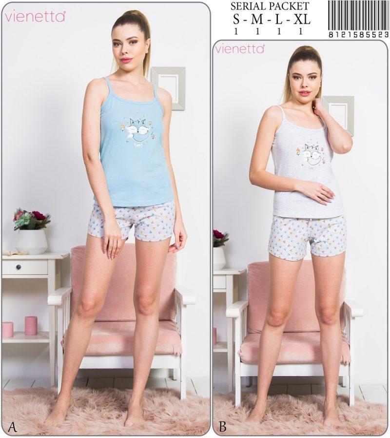 Пижама женская Шорты 8121585523