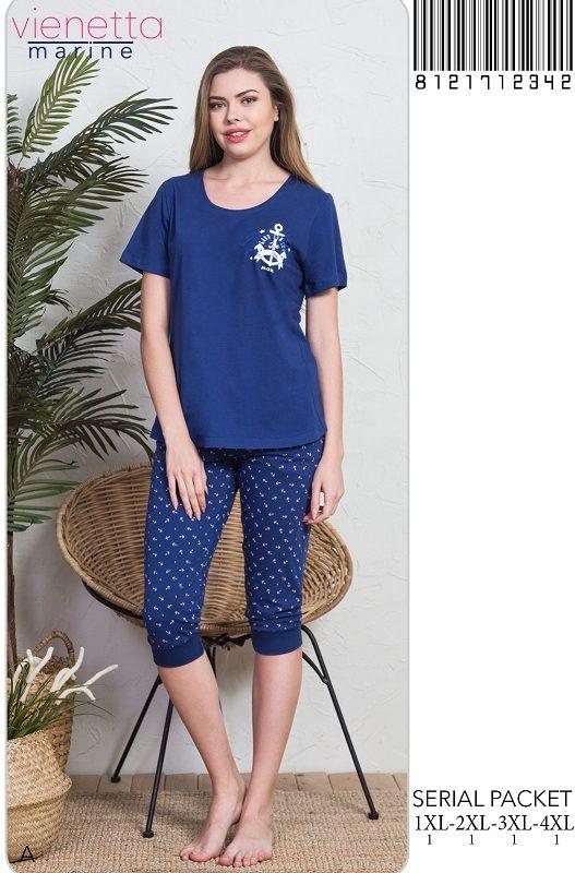 Пижама женская Капри 8121712342