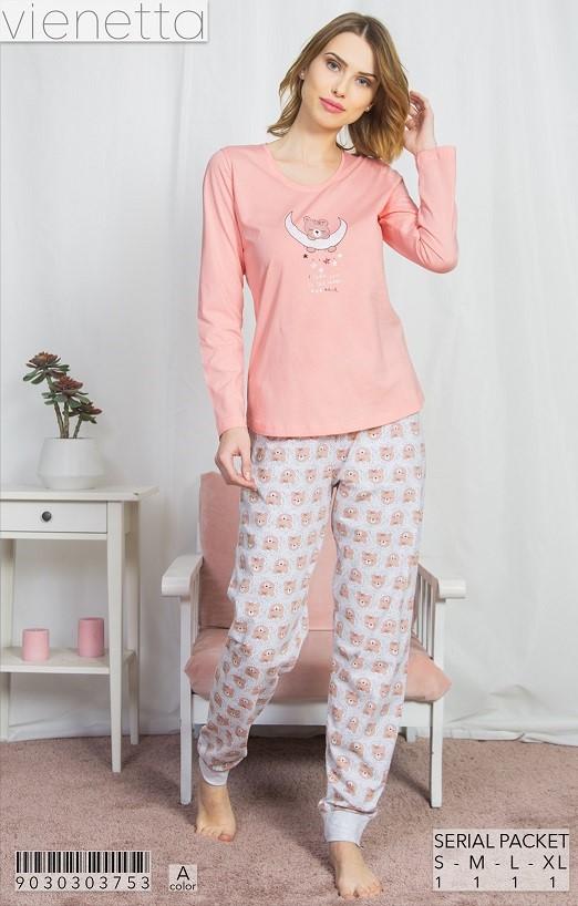Пижама женская Брюки 9030303753