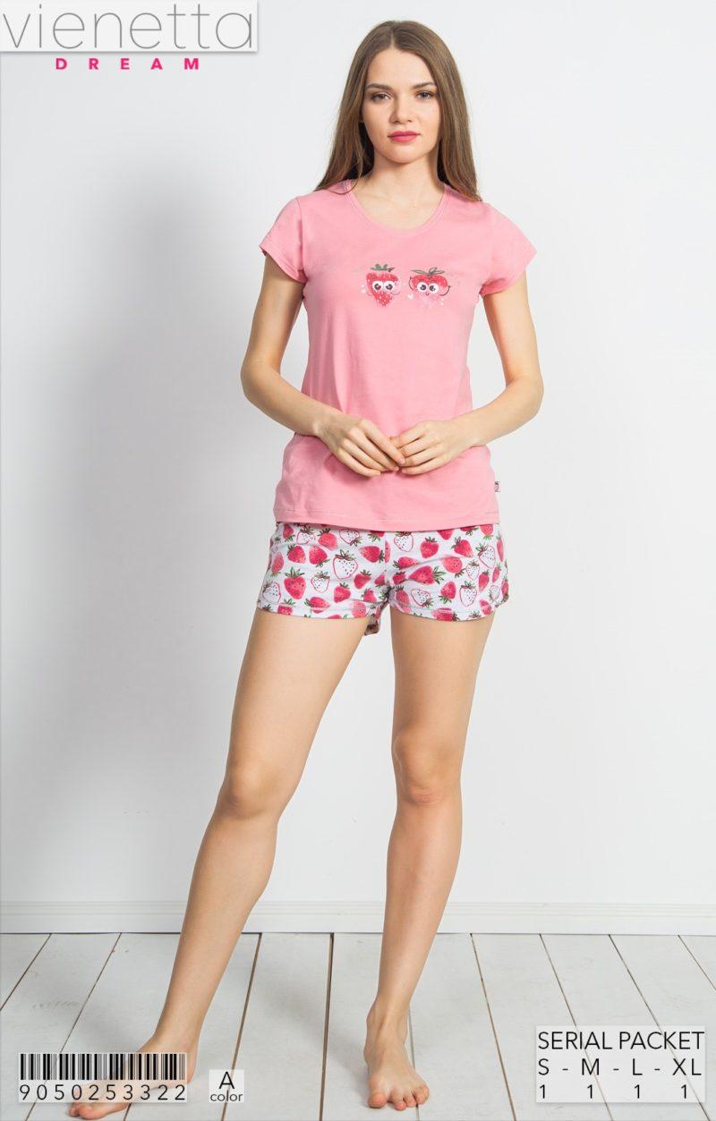 Пижама женская шорты 9050253322