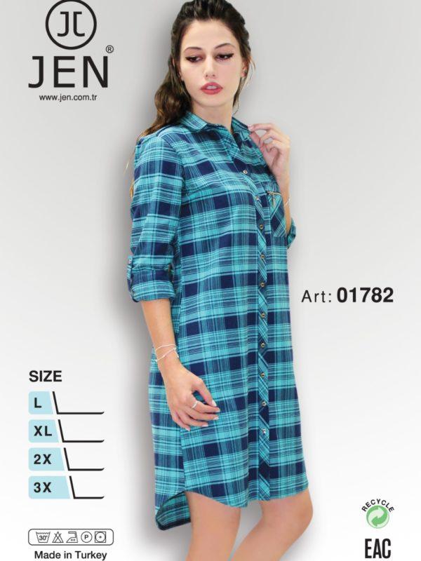 Халат рубаха Jen 01782