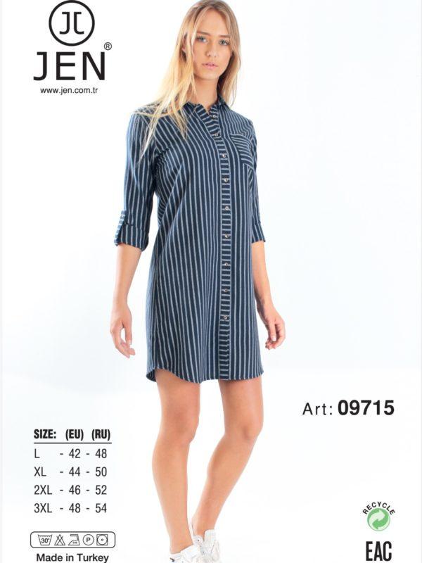 Халат рубаха Jen 09715