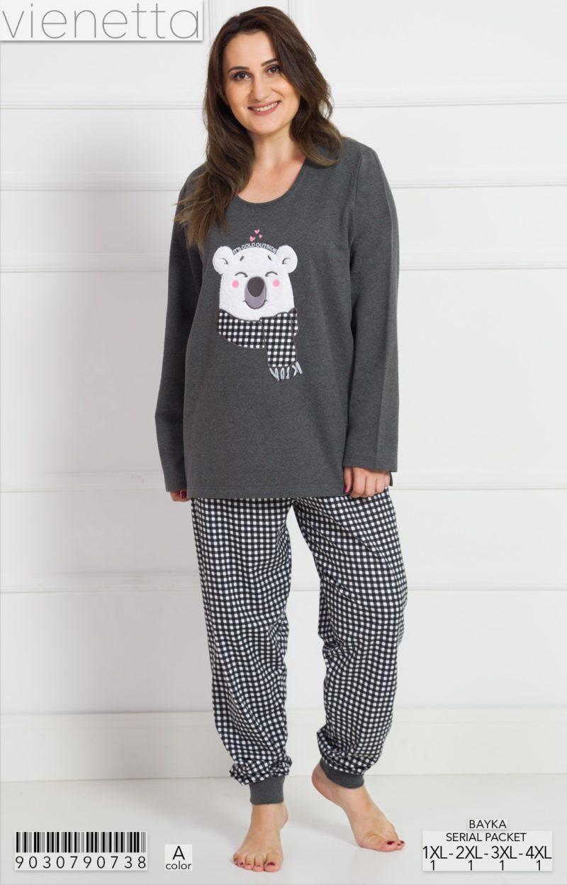 Пижама женская манжет 9030790738