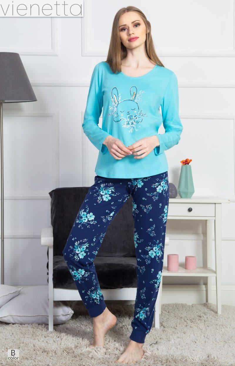 Пижама женская манжет 9040856755