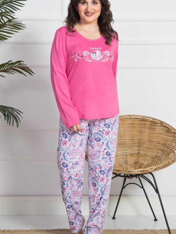 Пижама женская брюки 9040884252