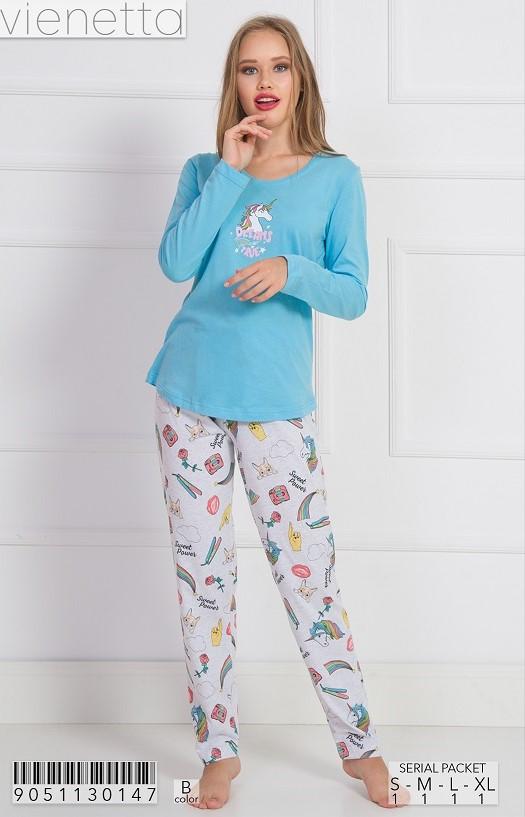 Пижама женская Брюки 9051130147