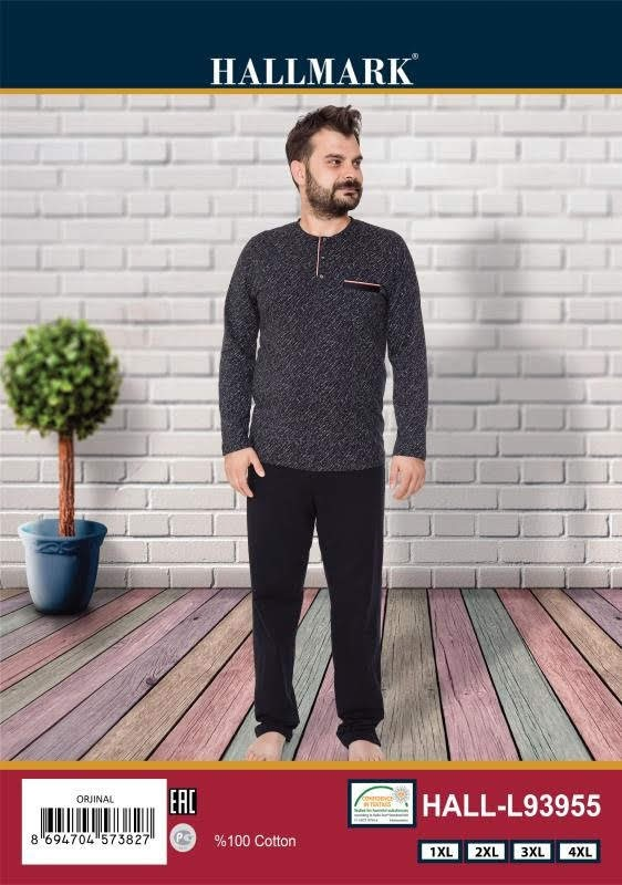 Пижама мужская HALL.L 93955