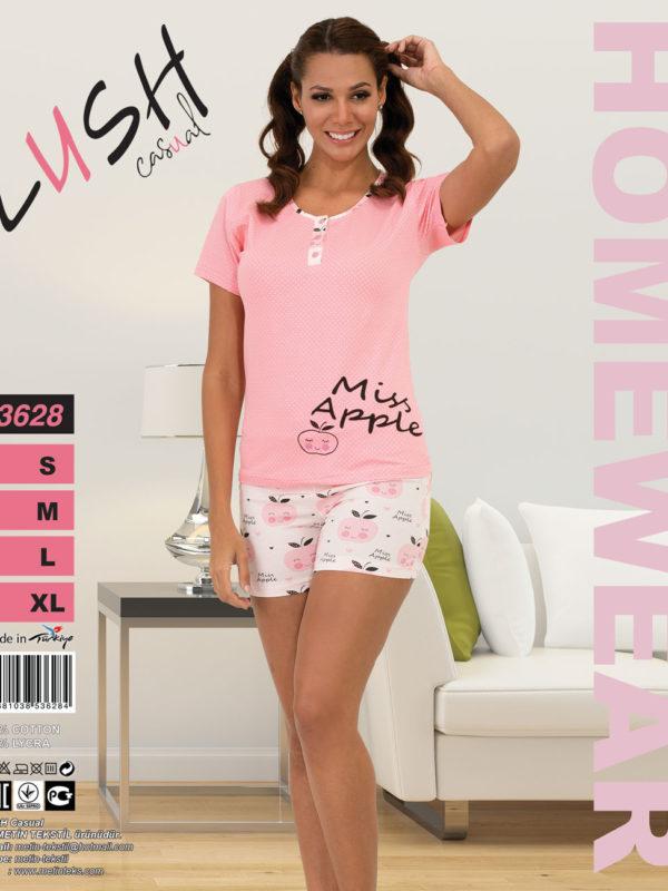 Пижама женская Шорты LUSH 3628