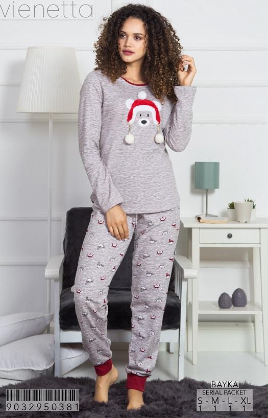 Пижама женская Брюки 9032950381