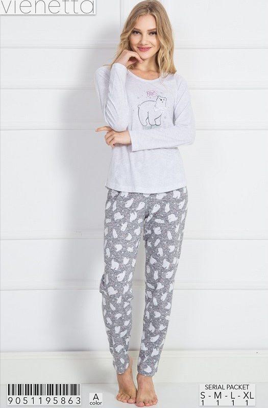 Пижама женская Брюки 9051195863