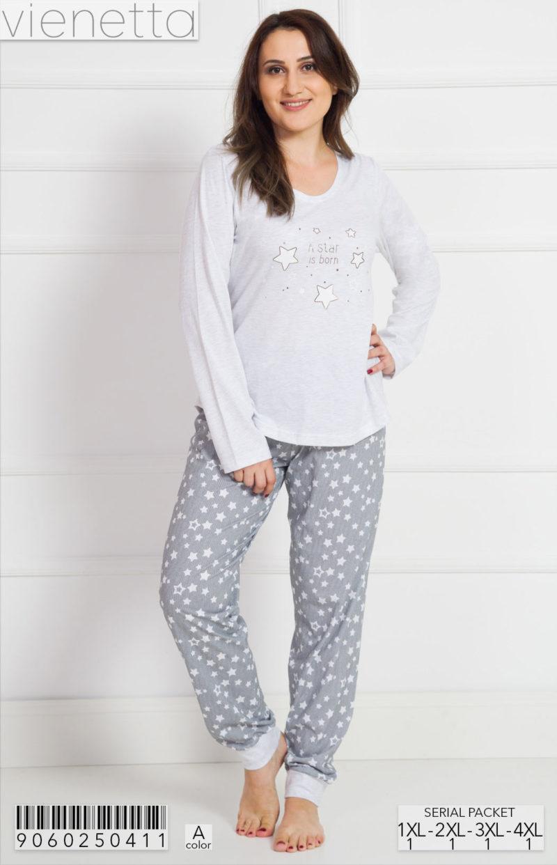 Пижама женская Брюки 9060250411