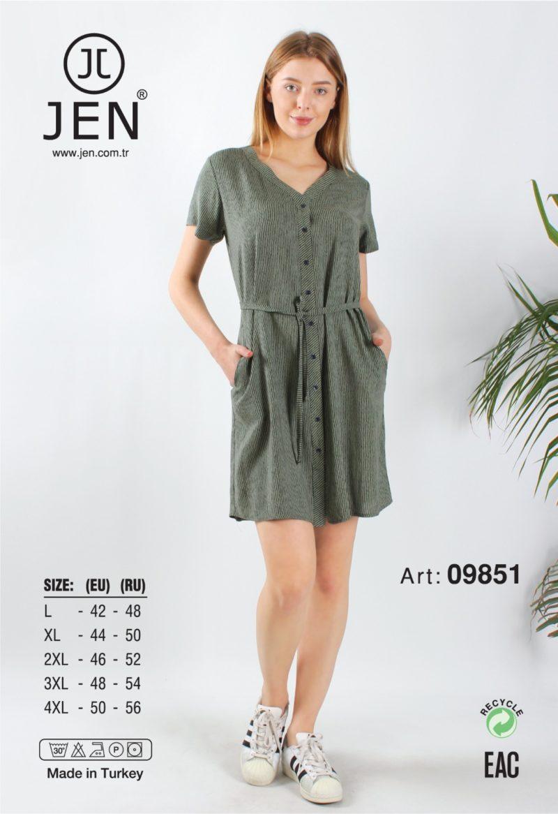 Халат рубаха Jen 09851