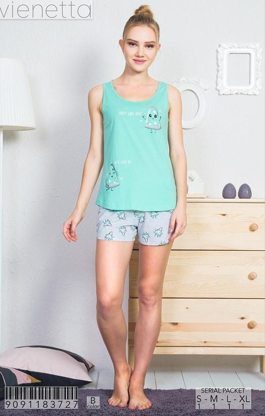 Пижама женская шорты 9091183727