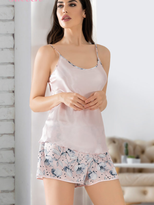 Пижама женская шорты 1605974877