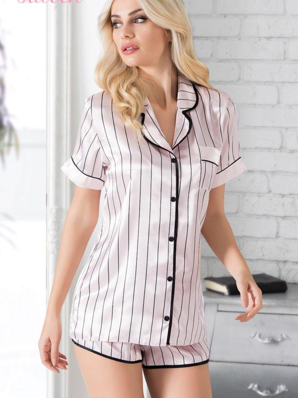 Пижама женская шорты 1605994879