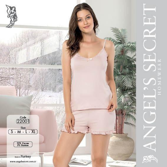 Пижама женская шорты 22001 Pu